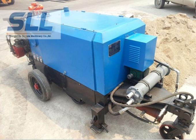 Full Hydraulic Concrete Shotcrete Machine For Building Construction Working
